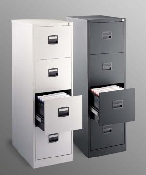 preiswerter und sehr stabiler b ro stahlschrank als abschlie barer freistehender. Black Bedroom Furniture Sets. Home Design Ideas