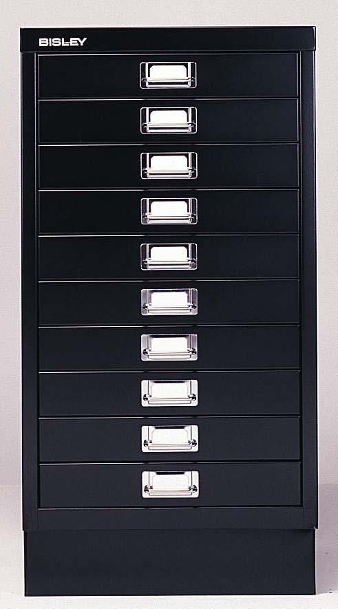 abbildung din a3 schubladenschrank 39 116 mit 10 schubladen schwarzer stahlschrank. Black Bedroom Furniture Sets. Home Design Ideas