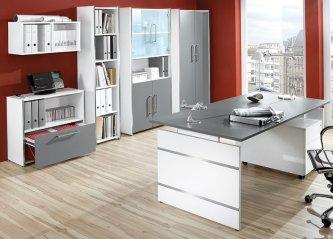 Moderne büromöbel  moderne und günstige Büro-Schiebetürenschränke mit Wendetüren oder ...