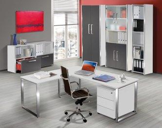 Moderne büroeinrichtung  frei planbare und moderne Büroeinrichtung: preiswerte Büroschränke ...