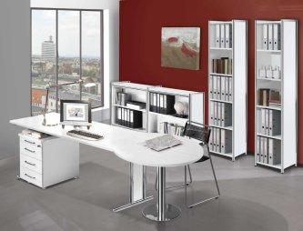 Moderne büroschränke  Büroschränke weiß o. anthrazit als Büroraumteiler oder Büroschrankwand