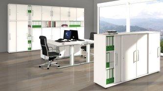 moderne und g nstige b ro schiebet renschr nke mit wendet ren oder schiebet ren. Black Bedroom Furniture Sets. Home Design Ideas