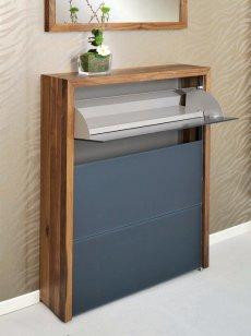 schuhschrank edelstahl. Black Bedroom Furniture Sets. Home Design Ideas
