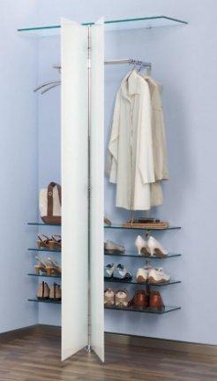 eckgarderobe wandgarderobe haloring. Black Bedroom Furniture Sets. Home Design Ideas