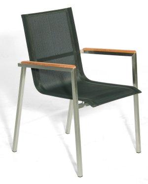 hochwertiger und preiswerter garten stapelstuhl edelstahl stuhlgestell sitzfl che aus. Black Bedroom Furniture Sets. Home Design Ideas