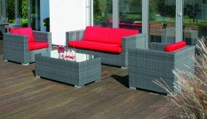 witterungsbest ndige wintergartenm bel im rattan stil. Black Bedroom Furniture Sets. Home Design Ideas