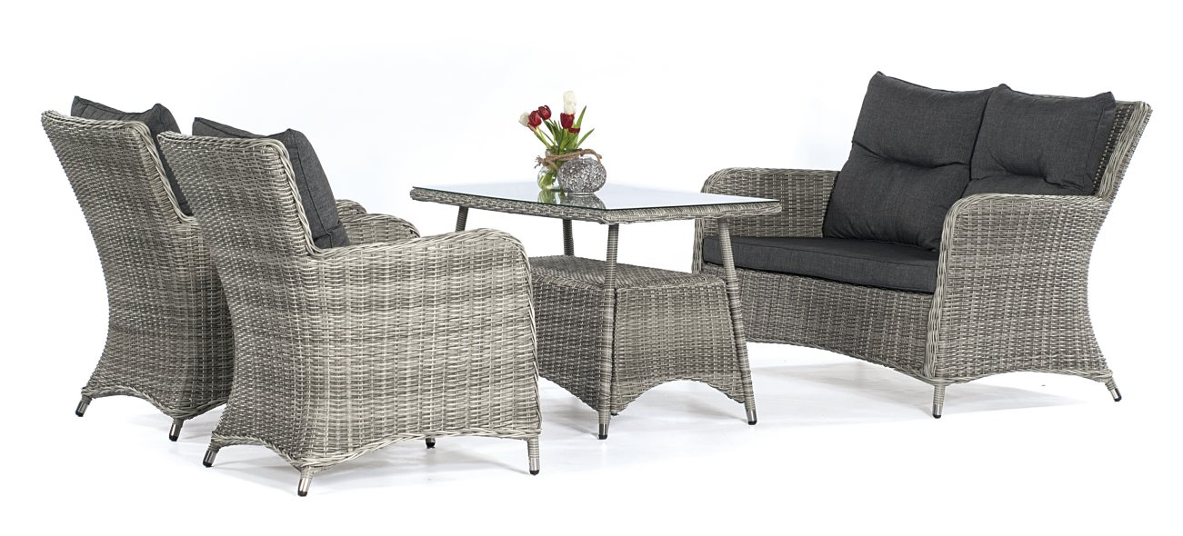preiswerte und robuste sitzgruppe mit garten sofa sessel. Black Bedroom Furniture Sets. Home Design Ideas
