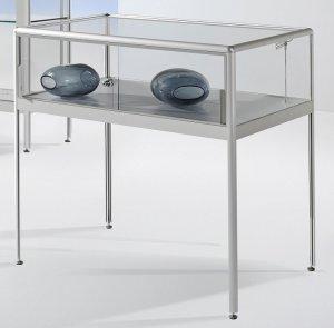 robuste schiebet ren tischvitrine brandschutz baustoffklasse schwer entflammbar. Black Bedroom Furniture Sets. Home Design Ideas