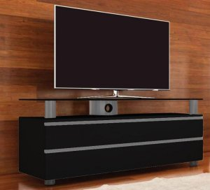 elegantes tv lowboard fernsehschrank f r. Black Bedroom Furniture Sets. Home Design Ideas