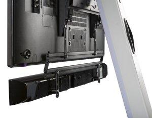 ... LCD-Fernseher-Standfuß mit drehbarer TV- und Lautsprecherhalterung