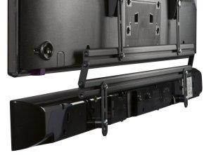 Stabile tv soundbar wandhalterung mit drehbarem schwenkarm f r lcd fernseher bis 70 zoll - Wandhalterung flachbildfernseher ...