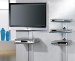 wandregal serie trento elegantes wandregal mit 1 oder 3. Black Bedroom Furniture Sets. Home Design Ideas
