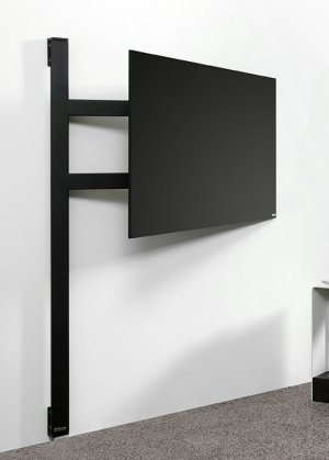 stabile fernseher wandhalterung mit schwenkarm f r. Black Bedroom Furniture Sets. Home Design Ideas