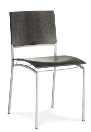Moderner tisch mit robuster tischplatte in buche ahorn for Designer esstischstuhl